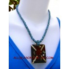 tropical necklaces pendant