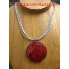 Necklaces Red Coral