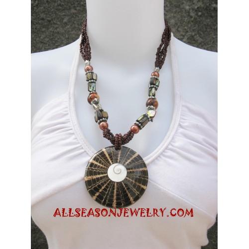 Necklaces Shells Pendants