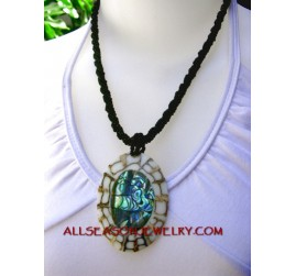 paua necklaces pendants