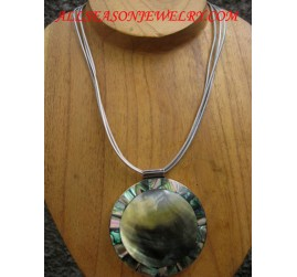 Paua Necklaces Pendant