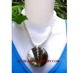 shell pendant combination