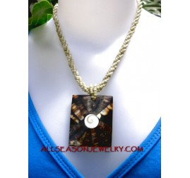 puka shell pendants