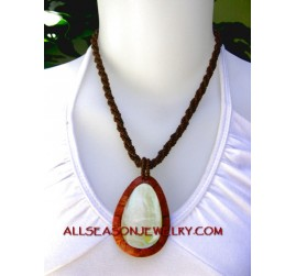 red coral necklace pendant