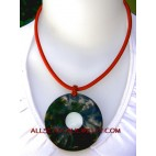 resin necklaces shell pendants