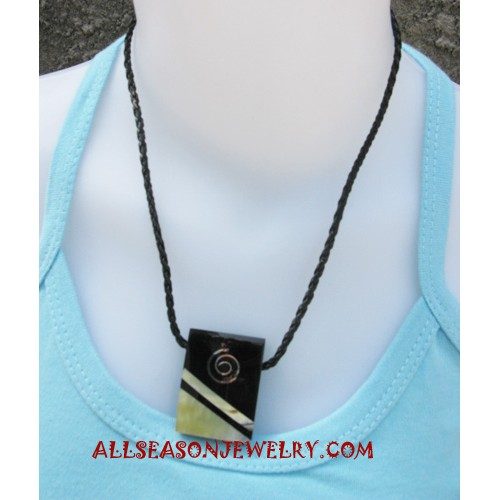 Resin Necklace Handmade