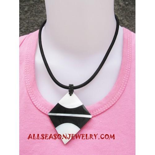 Resin Necklace Seashells