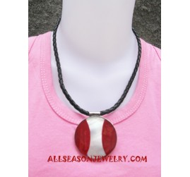 Resin Shell Necklace Pendant