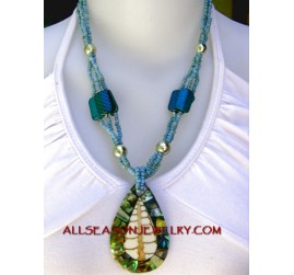 seashell necklaces pendants