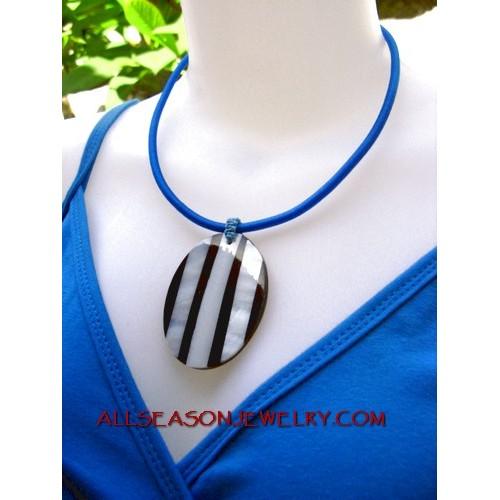 Seashell Jewelry Pendant