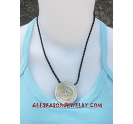 Seashells Necklace Carving