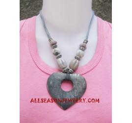 Stone Necklace Pendants