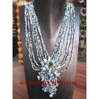 Casandra Bead Necklaces