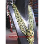 Women Necklaces Beads