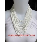 Bead Necklace Handmade