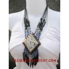 Bead Necklace Seashells