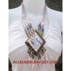 Bead Necklaces Seashell
