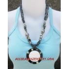 Bead Seashells Necklaces