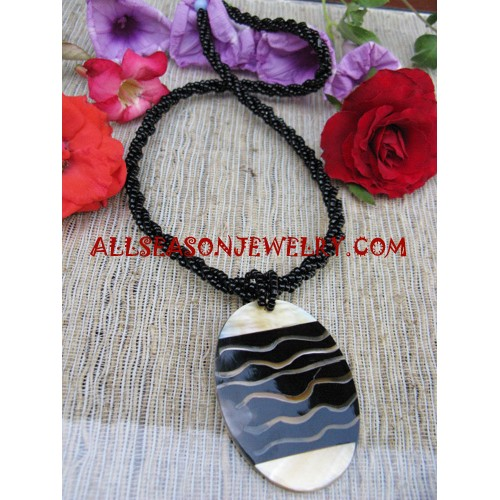 Bead Shell Necklace