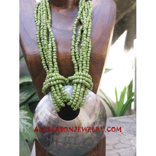 Bead Shell Necklaces