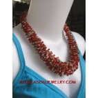 Bead Necklaces Wired