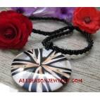 Beaded Seashells Necklace