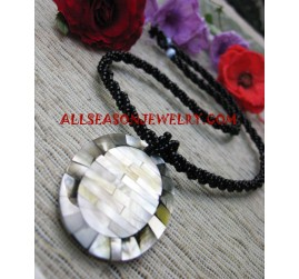 Beaded Shells Necklace