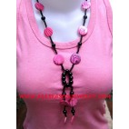 Beaded Stone Necklaces
