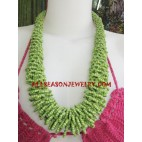 Medium beading Necklace Handmade