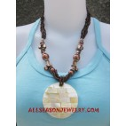 Beading Pendants Necklace