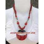 Beads Necklace Shells