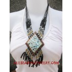 Beads Necklaces Seashell