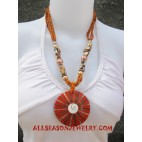 Beads Seashells Necklaces