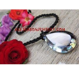 Beads Shell Paua Necklace