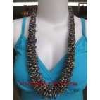 Chic Beaded Necklaces