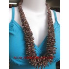 Glass Bead Necklaces Long