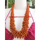 Medium size Girls Beads Necklace