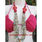 Ladies Beading Necklace