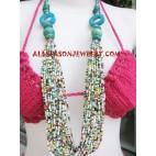 Ladies Beads Necklace