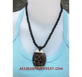 Mini Beaded Seashell Necklace