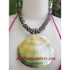 Necklace Pendant Mother Pearl