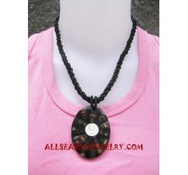 Necklaces Shell Pendants