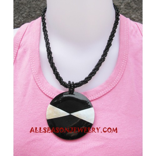 Resin Bead Necklace