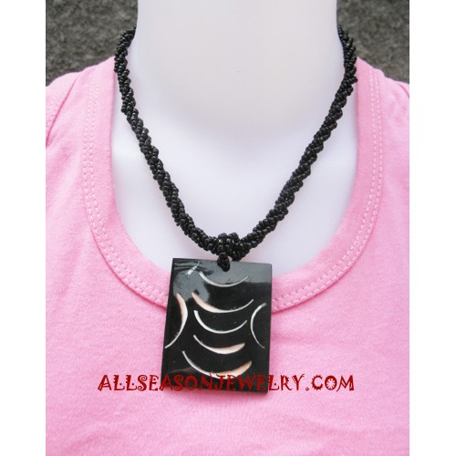 Resin Bead Necklaces