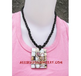 Resin Beading Necklace