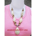 Seashells Beads Necklace