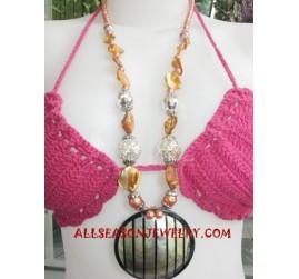 Seashells Necklaces Resin