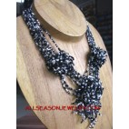 Triangle Bead Necklaces