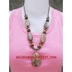 Stone Bead Necklaces