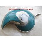 Shell Pendant Silver